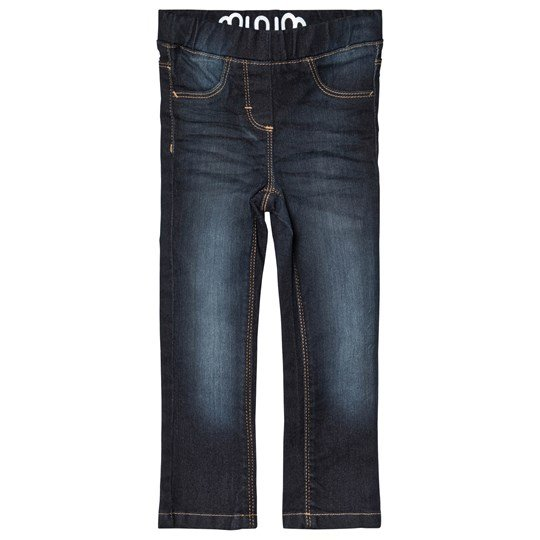 Minymo Molly Jeggings Dark Wash Dark Blue Denim