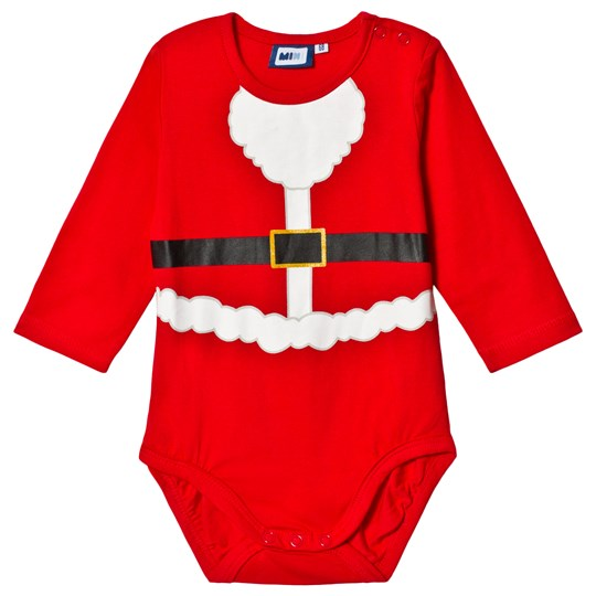 Max Collection Christmas Santarina Baby Body Red Red