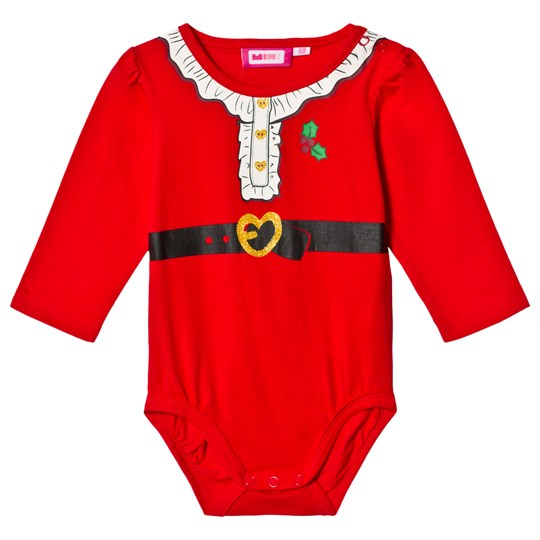 Max Collection Christmas Santa Baby Body Red Red