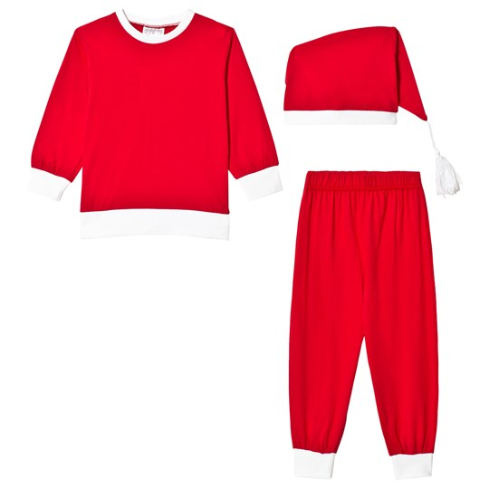Max Collection Christmas Santa Costume Red Red