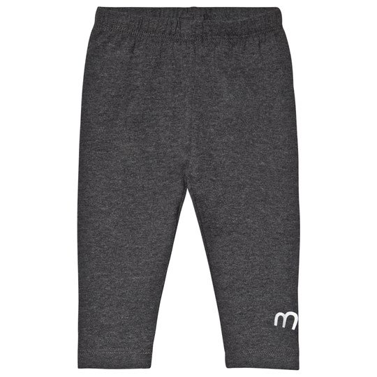 Minymo Basic Leggings Warm Grey Melange Warm Greymelange