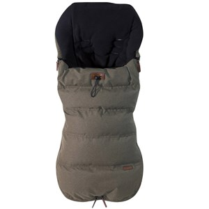 Image of Silver Cross Wave Luxury Footmuff Sable Grey One Size (720343)