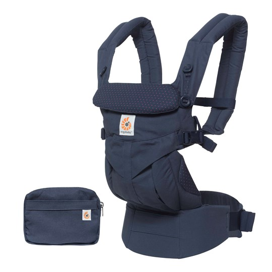 Ergobaby Omni 360 All-in-One Baby Carrier Navy Mini Dots Navy Mini Dots