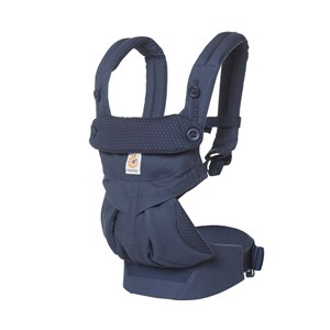 Image of Ergobaby 360 Baby Carrier Navy Mini Dots One Size (1248597)