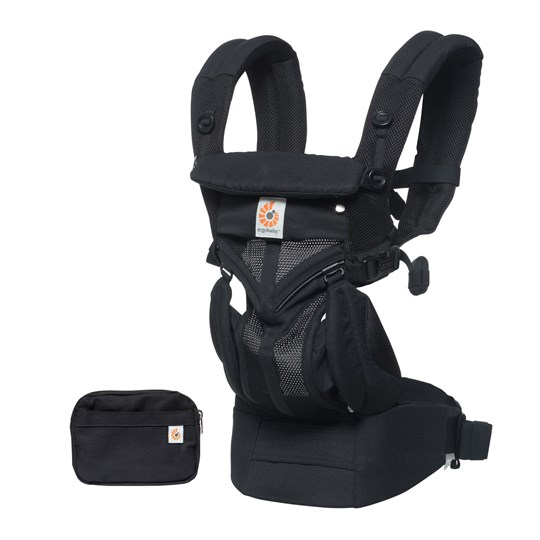 Ergobaby Omni 360 Baby Carrier Cool Air Onyx Black Onyx Black