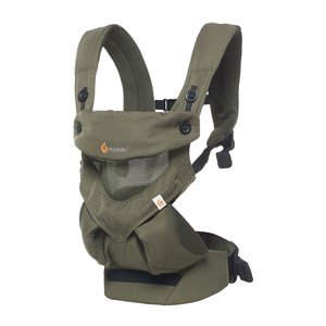 Image of Ergobaby 360 Baby Carrier Cool Air Khaki Green One Size (1248594)