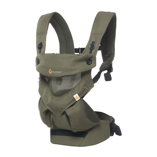 Ergobaby 360 Baby Carrier Cool Air Khaki Green Khaki Green