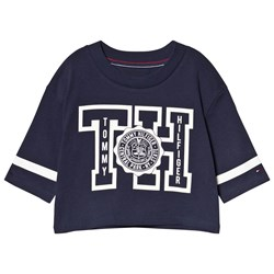 Tommy Hilfiger Branded Tee Navy