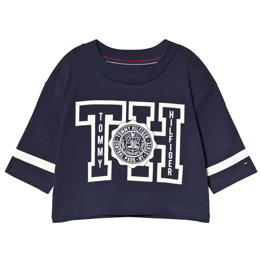 Tommy Hilfiger Branded Tee Navy 002