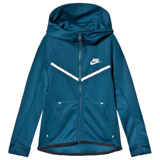 NIKE Blue Tech Fleece Hoodie 474