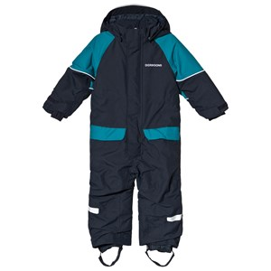Image of Didriksons Bille Kids Coverall Navy 80 (9-12 mdr) (3125239093)