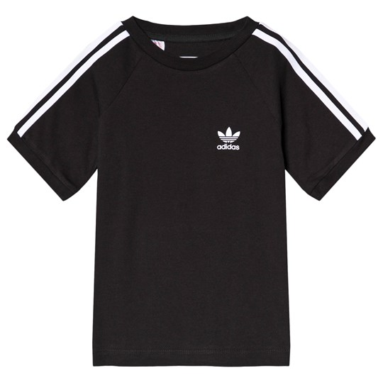adidas Originals Black Trefoil Logo Tee Black
