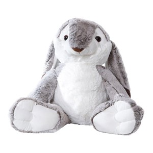 Image of Molli Toys Grey Rabbit 3 - 12 år (3125257639)