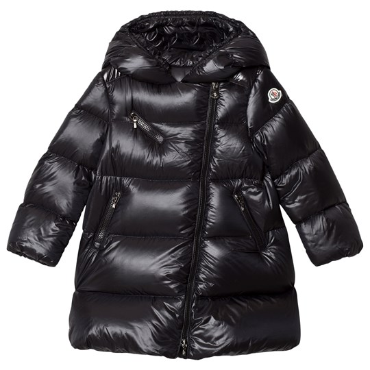 Moncler Gelinotte Down Hooded Coat Black 999