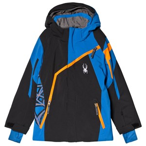 Image of Spyder Blue and Black Challenger Jacket 10 years (3151387547)