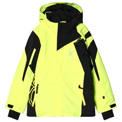 Spyder Yellow and Black Jacket