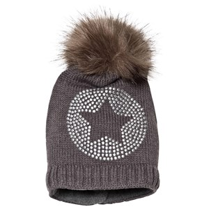 Image of Ticket to heaven Bobble Hat Anthrazit Melange Grey 47 cm (1195027)