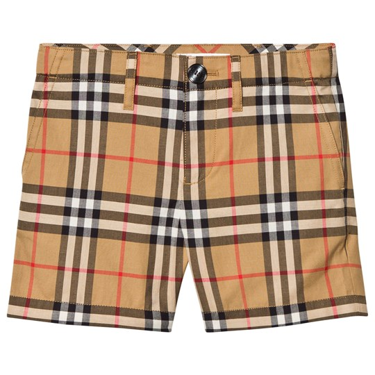 Burberry Tristen Check Shorts Beige A2442