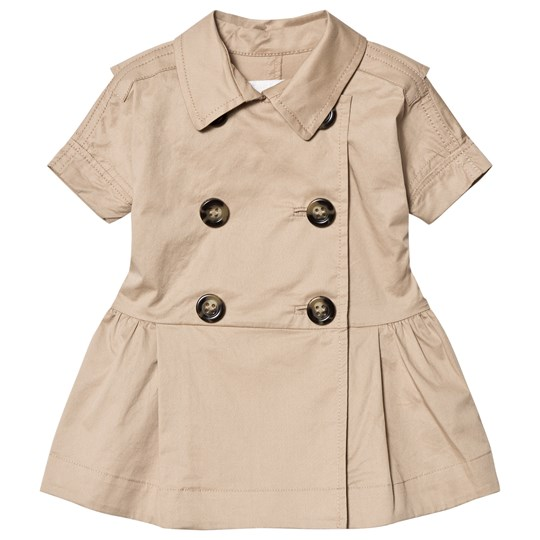 Burberry Mini Cynthie Trench Dress Beige A1366