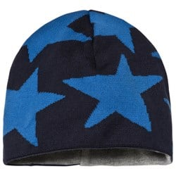 Ticket to heaven Short Knit Hat Total Eclipse Blue