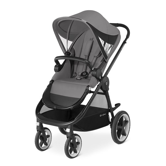 Cybex Balios M Stroller Manhattan Grey Black