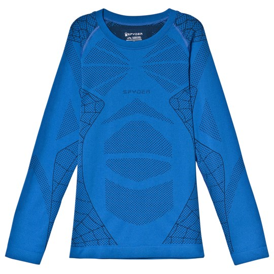 Spyder Blue Caden Baselayer Top 482