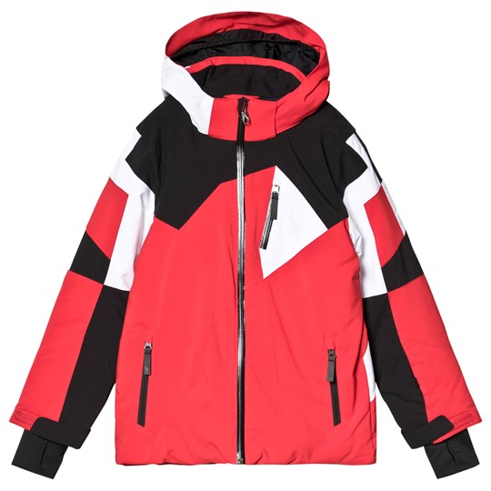 Spyder Red and White Leader Jacket 600