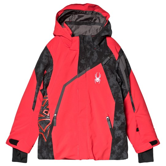Spyder Red and Black Challenger Jacket 600