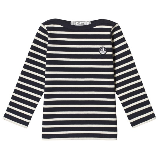 Petit Bateau LS T-Shirt Striped Blue/Off-White Blue/Off-White