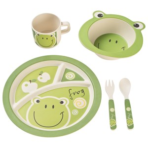 Image of JOUDOO Bamboo Kids Set Frog (3125283151)