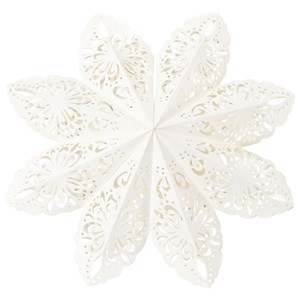 Image of Christmas Kids Christmas Star Snowflake 50 cm White One Size (1214569)