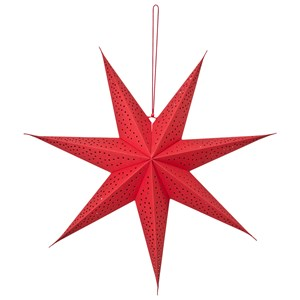 Image of Christmas Kids Christmas Star 60 cm Red One Size (1214571)