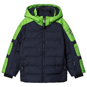 Image of Bogner Navy & Green Jerome-D Ski Jacket XXL (14-15 years) (1161386)