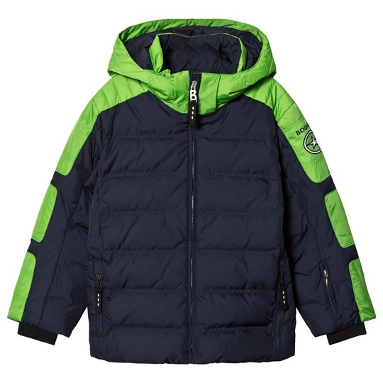 Bogner Navy & Green Jerome-D Ski Jacket 441