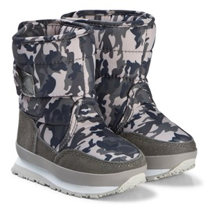 Image of Rubber Duck Print Grey Camo Boots 28 EU (3125268229)