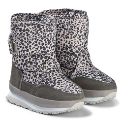 Rubber Duck Print Grey Leo Boots