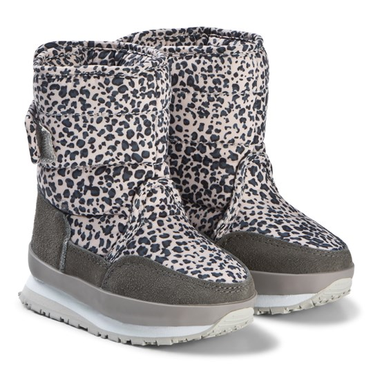 Rubber Duck Print Grey Leo Boots Grey Leo