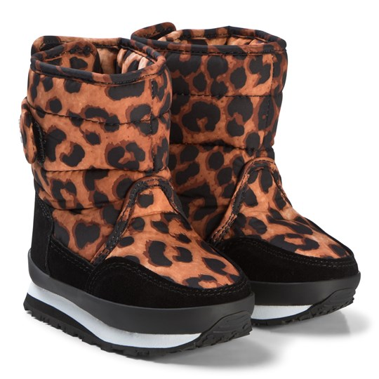 Rubber Duck Print Orange Boots Wild Animal