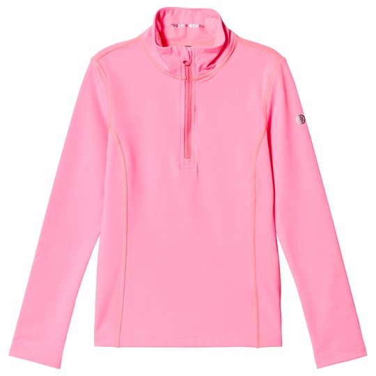 Poivre Blanc Baselayer 1/4 Zip Top Punch Pink 0106