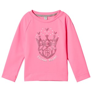 Poivre Blanc Glitter Logo Base Layer Top Punch Pink 2 years