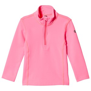 Image of Poivre Blanc Baselayer 1/4 Zip Top Punch Pink 18 months (3125235139)
