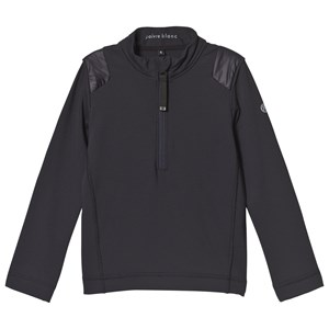 Image of Poivre Blanc Baselayer 1/4 Zip Top Navy 18 months (1132442)