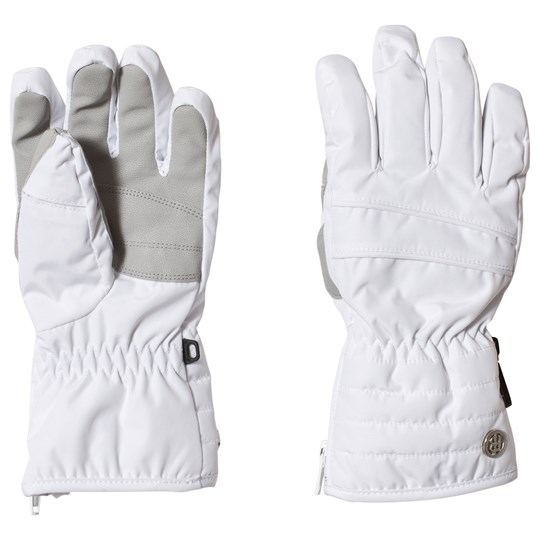 Poivre Blanc Branded Ski Gloves White 0001