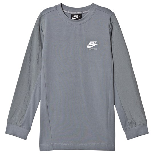 NIKE Grey Studio Pull Over Sweater 065