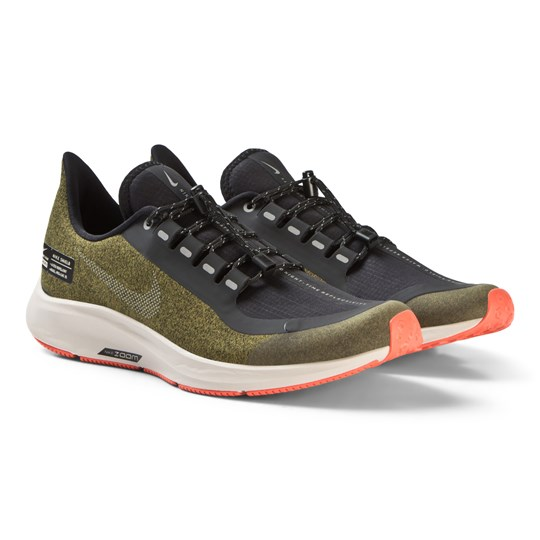 finest selection 2eddb 926bd NIKE Olive Air Zoom Pegasus 35 Shield Junior Performance Trainers 300