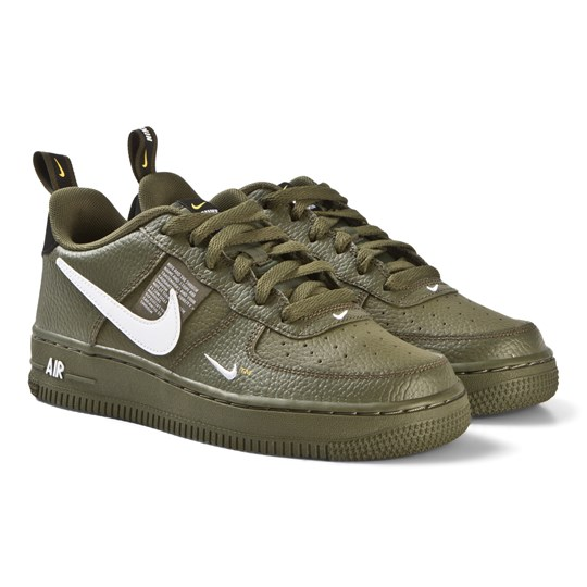 watch 6a13a bfe7f Green Nike Air Force 1 LV8 Utility Sneakers