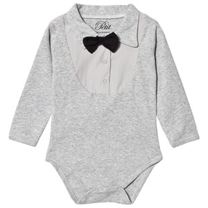 Image of Petit by Sofie Schnoor Baby Body Grey Melange 56 cm (3125239021)
