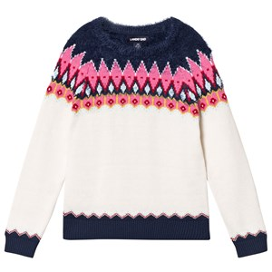 Image of Lands' End Fun Fairisle Knitted Sweater 12-13 years (3125287235)