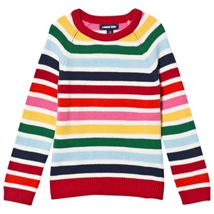 Image of Lands' End Fun Stripe Knitted Sweater 10-11 years (3125287239)