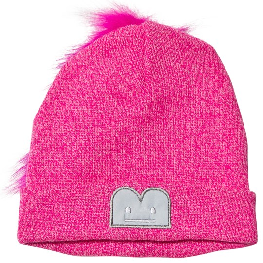 The BRAND Knitted Tail Beanie Pink